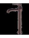 Bateria umywalkowa wysoka Omnires Art Deco miedź antyczna AD5112/1 ORB