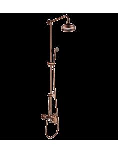 Zestaw natryskowy Omnires Art Deco miedź antyczna AD5144 ORB