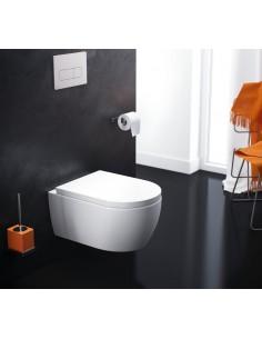 MISKA WISZĄCA 54,5x36 cm WC DOTO CLASSIC+ DESKA WOLNOOPADAJĄCA CEAX.1509.545.WH