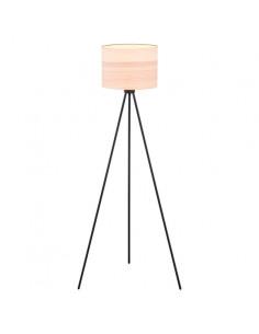 Lampa stojąca ARGON HILARY czarna/jasne drewno 4089