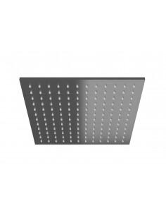 Deszczownica kwadratowa Kochlman 25 cm grafit szczotkowany Q25EG