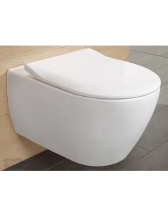 Miska WC wisząca Villeroy & Boch Subway 2.0 370x560 mm bez kołnierza wewnętrznego 5614R0