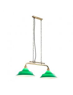 Lampa 2-pł. ARGON SAMARA zielona 1333