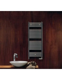 Grzejnik łazienkowy Zehnder Virando 786x500mm,podł.środkowe 50mm,chrom  ABC-080-050-05