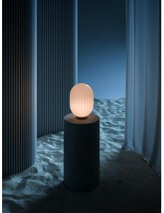 Lampa Bright Modeco wall/table-przewód biały 110905
