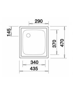 Zlewozmywak BLANCO TOP EE 4 X 4 501065