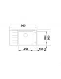Zlewozmywak BLANCO ANDANO XL 6 S-IF COMPACT KOMORA PRAWA Z KOR. INFINO 523001