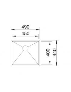 Zlewozmywak BLANCO ZEROX 450-IF Z KOR. INFINO 521586