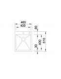 Zlewozmywak BLANCO ZEROX 400-IF/A Z KOR. INFINO 521629