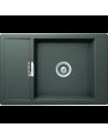 Zlewozmywak MONO- na równi z blatem -CRISTADUR SCHOCK D-100XS FB Silverstone