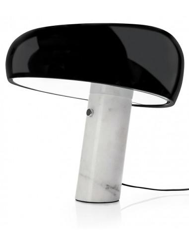 Lampa biurkowa PEAK MARBLE - marmur,...