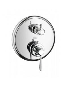 Bateria wannowo-prysznicowa Axor Montreux termostatyczna nikiel szczotkowany 16821820