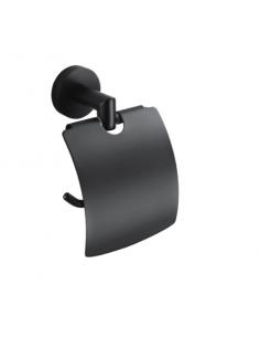 Uchwyt do papieru toaletowego Stella Classic czarny 07.440-B