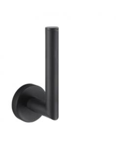 Uchwyt na zapasową rolkę papieru toaletowego Stella Classic czarna 07.441-B