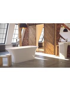 Wanna wolnostojąca Besco ASSOS 160x70 cm biała