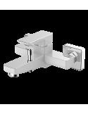 Bateria wannowa biały/chrom Omnires Parma PM7430 CRB