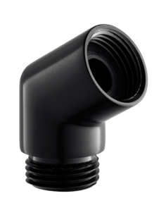 Kolanko słuchawki prysznicowej czarne Omnires T87 BL