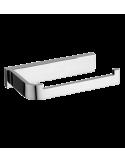 Uchwyt na papier toaletowy chrom Omnires Lugano LU30510