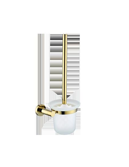 Szczotka WC wisząca złota Omnires Modern Project MP60620 ZŁ