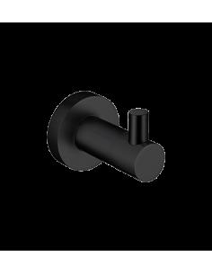 Haczyk pojedynczy czarny Omnires Modern Project MP60110 BL