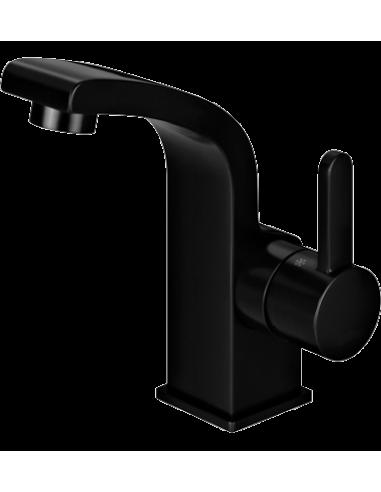 Bateria umywalkowa sztorcowa czarna Omnires Darling DA5010 BL