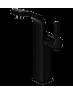 Bateria umywalkowa sztorcowa wysoka czarna Omnires Darling DA5012 BL