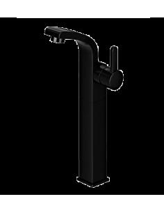 Bateria umywalkowa sztorcowa wysoka czarna Omnires Darling DA5013 BL
