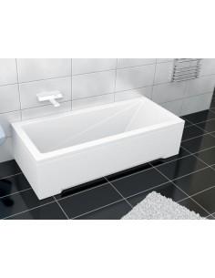 Wanna prostokątna akrylowa Besco MODERN 150 150x70