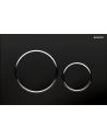 Przycisk uruchamiający Geberit Sigma20, przedniczarny-chrom bł.-czarny 115.882.KM.1