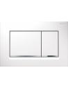 Przycisk uruchamiający Geberit Sigma30, przedni,biały-chrom bł.-biały 115.883.KJ.1