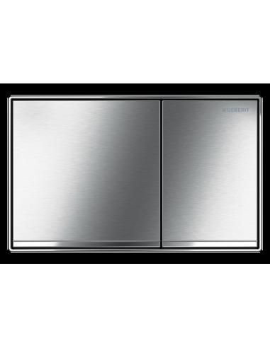 Przycisk uruchamiający Geberit Sigma60, przedni, chrom szczotk. 115.640.GH.1