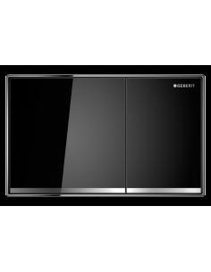 Przycisk uruchamiający Geberit Sigma60, przedni, szkło czarne 115.640.SJ.1
