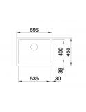Zlewozmywak BLANCO CRONOS XL 6-IF STAL GŁADKA, INFINO 525025