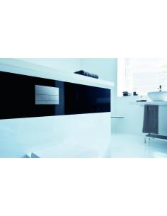 Przycisk spłukujący Tece Square przycisk spłukujący do WC szkło białe 9240800