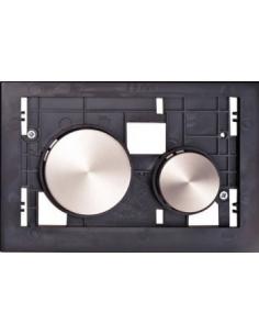 Tece Loop płytka z przyciskami białymi 9240663