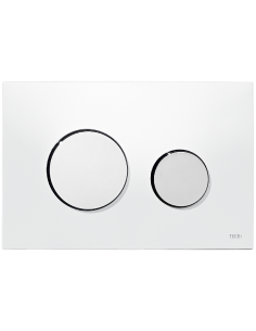Tece Loop przycisk spłukujący do WC biały 9240600
