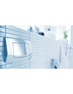Tece Ambia przycisk spłukujący do WC biały 9240200