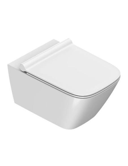 Catalano Green miska WC wisząca 1VS55RGR00+deska w/op