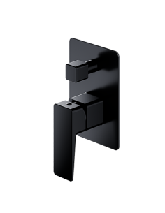 Bateria wannowa podtynkowa Omnires Parma czarny mat PM7435BL