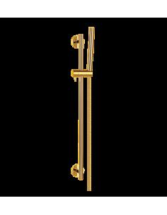 Zestaw natryskowy Omnires złoty MICROPHONE-SGL