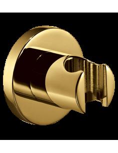 Uchwyt punktowy, mosiężny, okrągły Omnires złoty 8873AGL