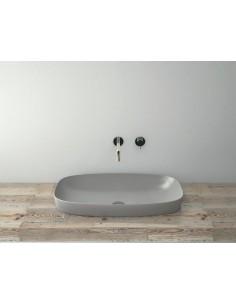 Umywalka nablatowa Catalano COLORI 45x40 cm Cemento Satinato 175AGRLXCS