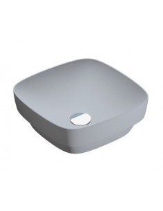 Umywalka nablatowa Catalano COLORI 40x40 cm Cemento Satinato 140AGRLXCS