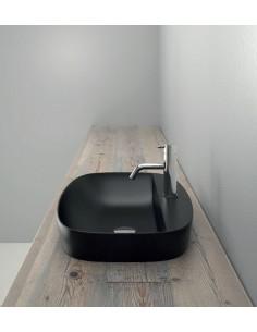 Umywalka nablatowa Catalano COLORI 60x40 cm nero satinato