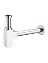 Syfon umywalkowy kwadratowy Omnires chrom A5555