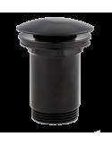 Korek klik-klak do syfonu umywalkowego Omnires czarny mat A706 BL