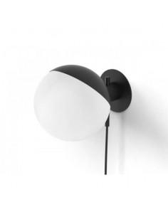 Kinkiet mały Baluna Grupa Products kula czarno-biała BA-W-S