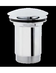 Korek klik-klak do syfonu umywalkowego Omnires chrom A706 CR