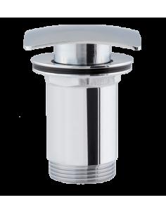 Korek klik-klak do syfonu umywalkowego kwadratowy Omnires chrom F706