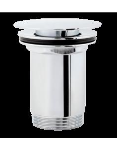 Korek klik-klak do syfonu umywalkowego cylindryczny płaski Omnires chrom P706